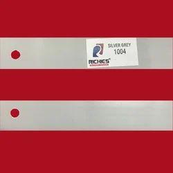Silver Grey Edge Band Tape