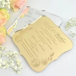 Mirror Acrylic Invitation