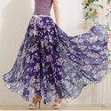 Ladies Digital Printed Long Skirt