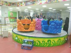 Amusement Dolphin Ride