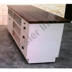 Wooden Checkout Counter