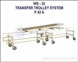 westernsurgical Transfer Trolley System