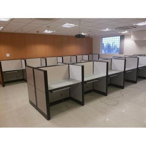 Aluminium Linear Modular Office Workstation