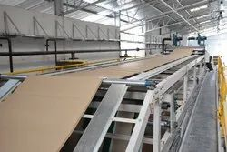 2 Ply Corrugation Passing Bridge for Automatic Plant
