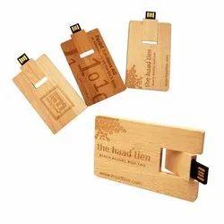 Wood Card Pendrive