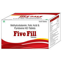 Methylcobalamin Folic Acid & Pyridoxine HCL Tablets