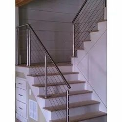 Interior Stainless Steel Staircase Railing