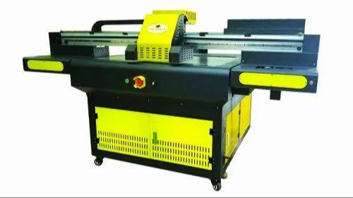 UV Flatbed Button Printer