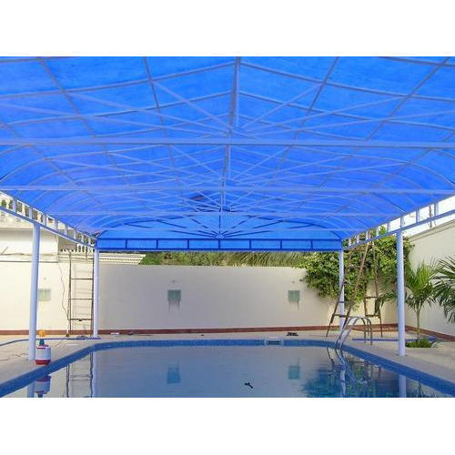 Polycarbonate Swimming Pool Shed