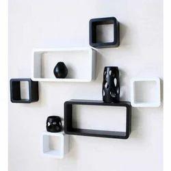 Jaipur Crafts & Webel Kart White And Black Designer Wall Rack