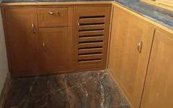 Modular Kitchen PVC Cupboard