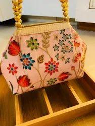 Designer Zari Bags