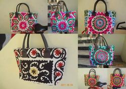Suzani Embroidered Ladies Hand Bag