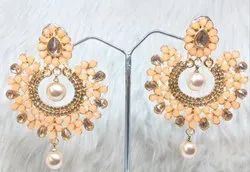 Hanging Gold Plated Fashion Earring