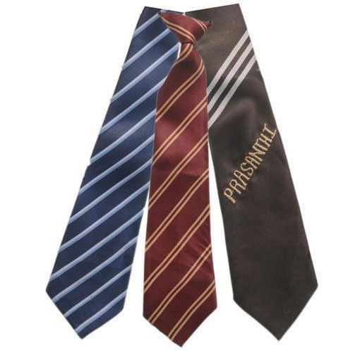Unisex Stripped School Tie
