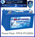 FPC0 PC1000LSF SONIC Inverter Battery