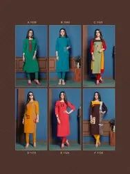 Designer Cotton Handwork Kurtis