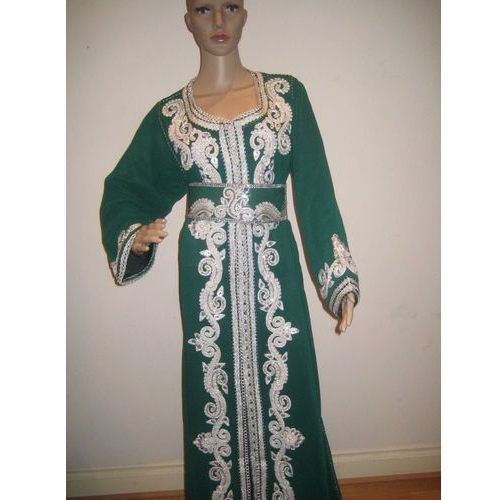 Cotton Silver Work Kaftans, Size: M and L