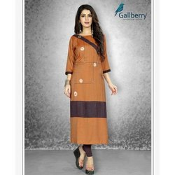 Fancy Ladies Long Rayon Kurti
