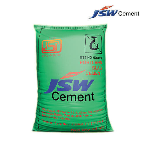 PSC (Portland Slag Cement) JSW Cement, Packaging Size: 50 Kg, Packaging Type: PP Sack Bag