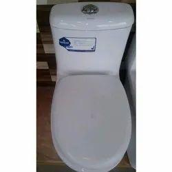 Floor Mounted Closed Front Bathroom Western Toilet
