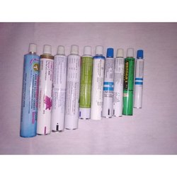 Colored Aluminium Collapsible Printed Tubes
