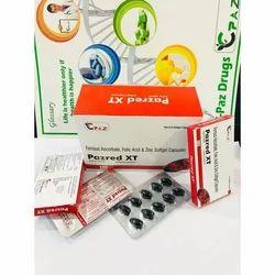 Ferrous Acorbate Folic Acid Zinc 22.5 mg Soft Gel Capsule