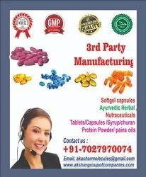 Third party Pharmaceuticals Manufacturing  services