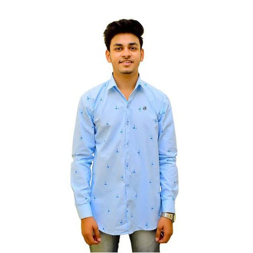 Biasons Cotton Mens Trendy Printed Shirt