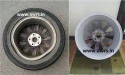 Bent Alloy Wheel Repair