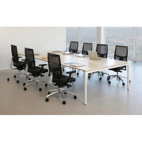 Wooden Office Meeting Table