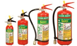 Safex Clean Agent Stored Pressure Type Fire Extinguishers- 04kg