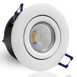 Round High Power Cob LED Zoom Down Light - 10W