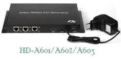 Huidu HD A601/ A602/ A603  (Normal, 3G, 4G, Wi-Fi) Synchronous-Asynchronous dual-mode HD player box