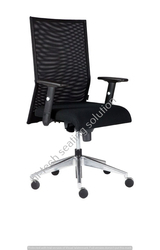 Medium Back Leo Mesh Chair