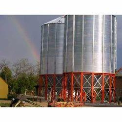 Maize Silo Storage Tank