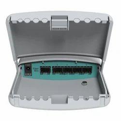 Fibre Switch LAN  Capable CRS105-5S-FB Mikrotik FiberBox, 11 W