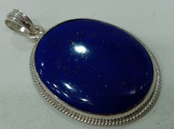 Lapiz Lazuli Silver Pendent