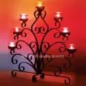 The Tree Metal Candle Stand
