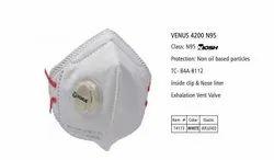 VENUS V-4200 SERIES Filtering Facepiece Respirators Maks