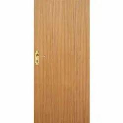E-Door Custom Decorative Teak Veneered Wooden Flush Door, Size/Dimension: 25 To 50mm