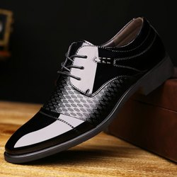 Men Black and Brown Formal Shoes