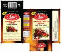 Star Masale Tandoori Chicken Masala, Packaging: Packet