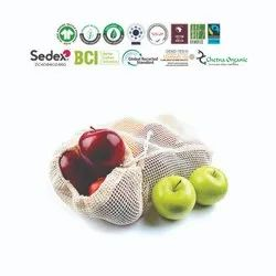 Sustainable cotton mesh bag manufacturer