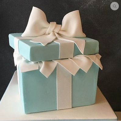 Open Layer Gift Box Cakes