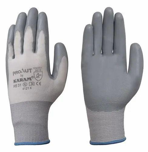 Karam Nitrile Coated Hand Gloves