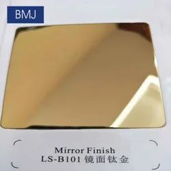 Mirror Gold Stainless Steel Sheets