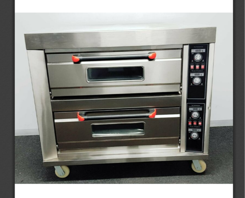 Single Phase Automatic Electric Bakery Deck Oven, 2.4 kW/hr, Baking Capacity: 2 Trays