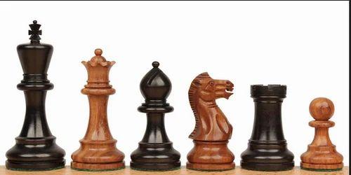 CGI-22 Parker Staunton Chess Set In Ebonized Boxwood - Chess