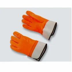 PVC Unisex Cold Storage Hand Gloves
